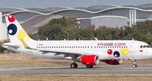 viva air colombia avion nuevo